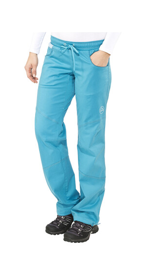 La Sportiva Kalymnos lange broek Dames blauw